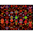 abstract geometric background of colored squares vector image