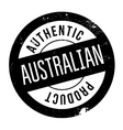 Authentic australian product stamp vector image vector image