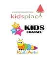 Children Places Logo Template vector image
