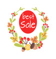 christmas best sale icon surrounded by wreath vector image vector image