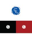cl-logo vector image vector image