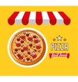 delicious fast food vector image vector image