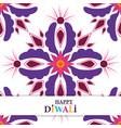 happy diwali festival decorative mandala culture vector image vector image