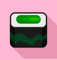 nigiri sushi icon flat style vector image