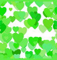 seamless heart pattern background - design vector image vector image