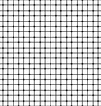 Seamless monochrome mesh pattern vector image vector image