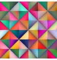 Seamless Multicolor Gradient Triangle vector image vector image