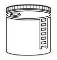 tank with oil oil storage tank heating oil icon vector image