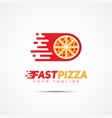 food template logo vector image