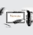 model of a jar of mascara for eyelashes vector image