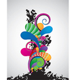 abstract 13 vector image vector image