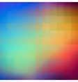 abstract colorful background squares vector image