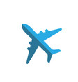 airplane icon plane sign vector image