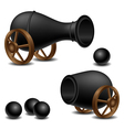 Cannon set vector | Price: 1 Credit (USD $1)
