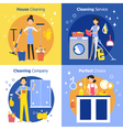 Cleaning People Concept vector image vector image