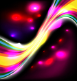 dark glow background vector image vector image