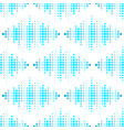 digital music equalizer audio waves vector image vector image