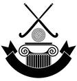 Field hockey vector image vector image