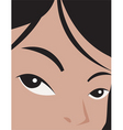 Girls face vector | Price: 1 Credit (USD $1)