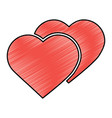 heart cartoon icon image vector image vector image
