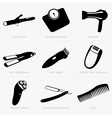 Household objects vector image vector image