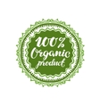 Organic product vector image vector image