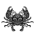 Ornate Sea Crab vector image vector image