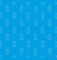 pack of two tablets pattern seamless blue vector image vector image