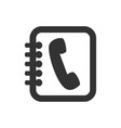 phone icon3 vector image vector image