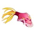 Pink Squid vector image