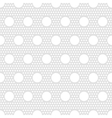 Polka dots seamless pattern for print vector image vector image
