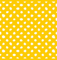 seamless pattern with white hand drawn polka dots vector image vector image