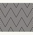 seamless stylish pattern geometric striped vector image