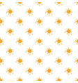 spot of orange honey pattern vector image vector image