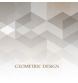 abstract grey and white tech geometric corporate vector image vector image