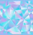 blue triangle seamless pattern vector image