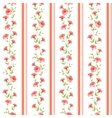 Color flower wallpaper vector image vector image