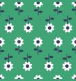 folk art seamless pattern background vector image