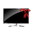 Gift TV vector image