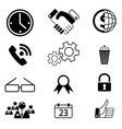 icons 10 vector image