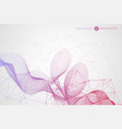 modern futuristic background of the scientific vector image vector image