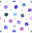polka dot seamless pattern abstract textured vector image