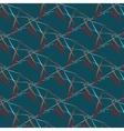 abstract hand drawn brushstroke shapes vector image vector image