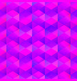 purple color mosaic seamless pattern vector image vector image