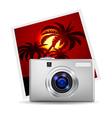 Realistic digital camera vector image