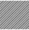 repeatable pattern with wavy zig zag lines vector image vector image
