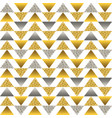 seamless pattern with golden and silver vector image vector image