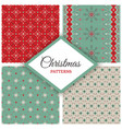 year geometric holiday set vector image