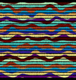 seamless background in the bohemian style vector image