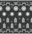 christmas decorations from dried oranges vector image vector image
